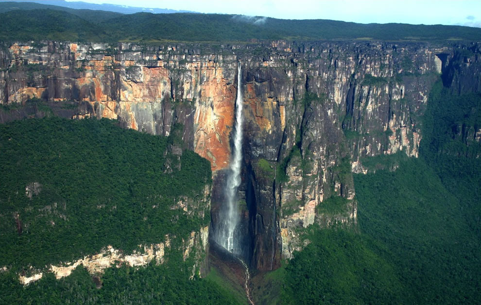 Angel Falls world's highest free-falling waterfall