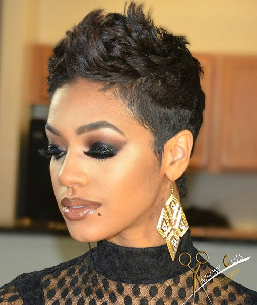 60 Great Short Hairstyles for Black Women - Women Hairstyle 2016