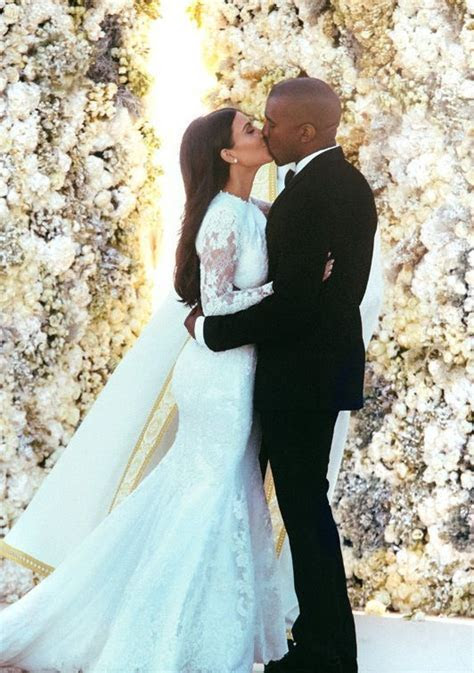 It's official! Kim Kardashian and Kanye West finally tie