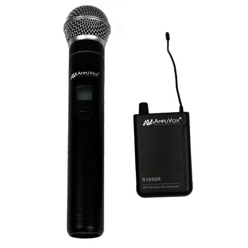 handheld wireless mic