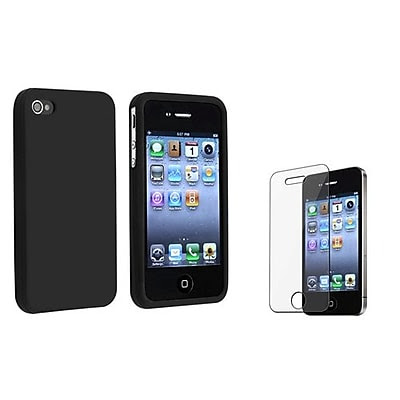 DEALS Insten 351387 2-Piece iPhone Case Bundle For Apple iPhone 4/4S LIMITED