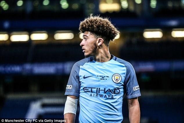 Jadon Sancho - victima surplusului de inteligență tactică de la Manchester City
