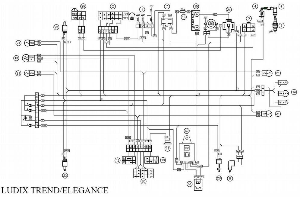 Derbi Senda Wiring Diagram