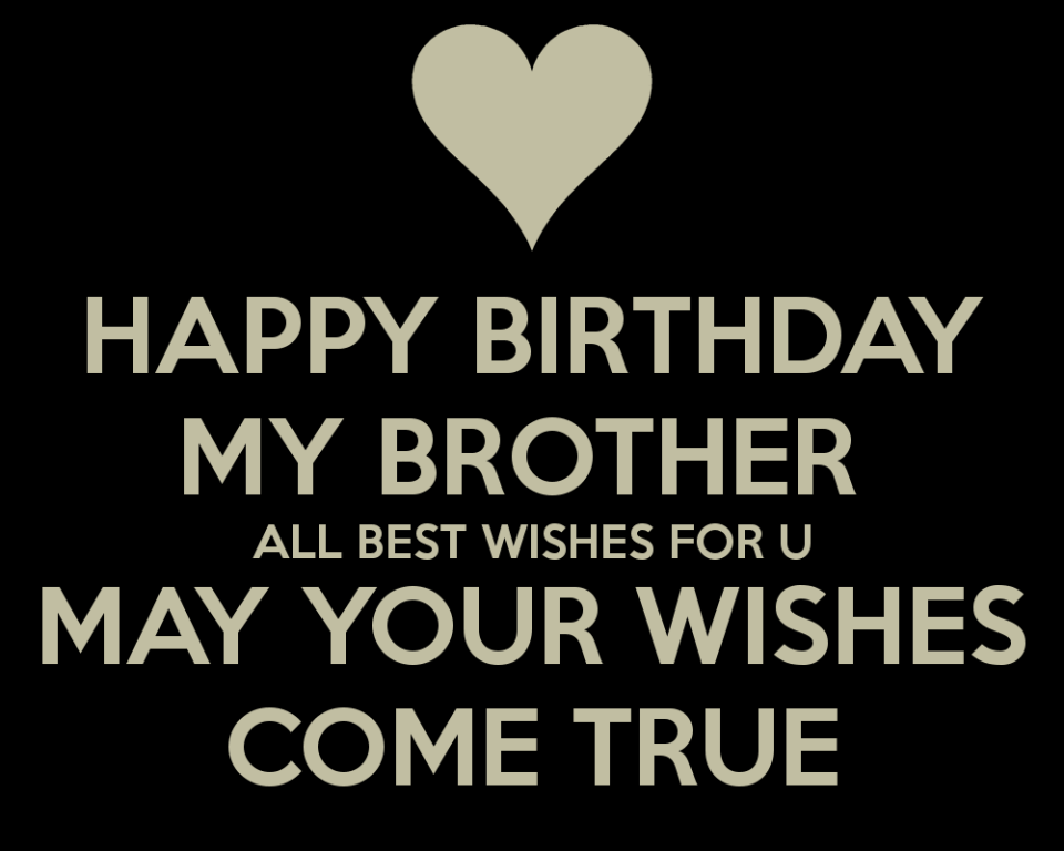 Birthday Wishes Latest Happy Birthday Brother Poems From Sister