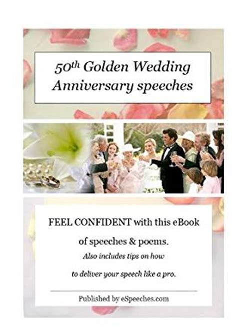 50th Golden Wedding Anniversary Speeches   Kindle edition