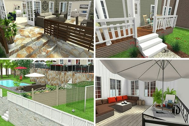 Ideas For Patio Design Software images