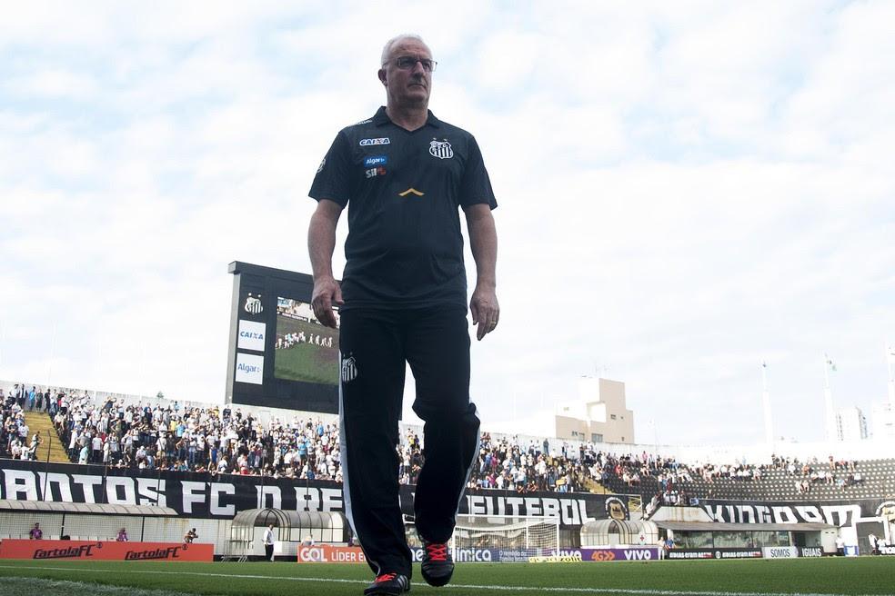 Dorival Júnior se mostra compreensivo com desempenho da equipe contra o Coritiba (Foto: Ivan Storti/Santos FC)