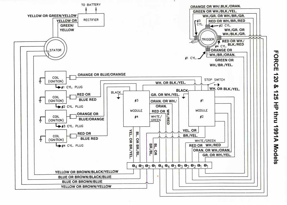 chrysler 55 hp outboard motor wiring diagrams image 4