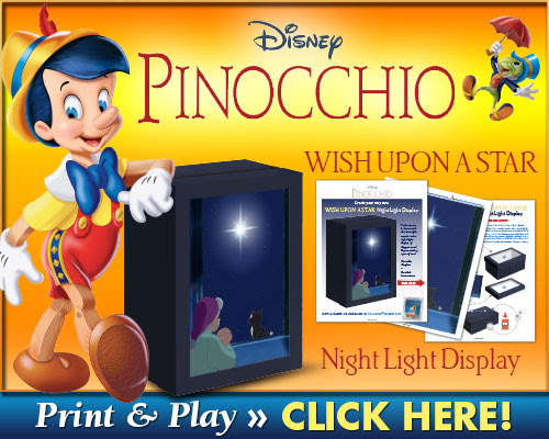 Download Pinocchio Night Light Display
