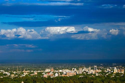 Rain Clouds Over Mendoza