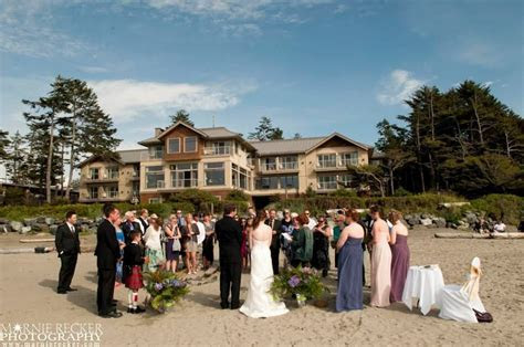 Long Beach Lodge Resort  Tofino BCBeach Wedding/Vancouver