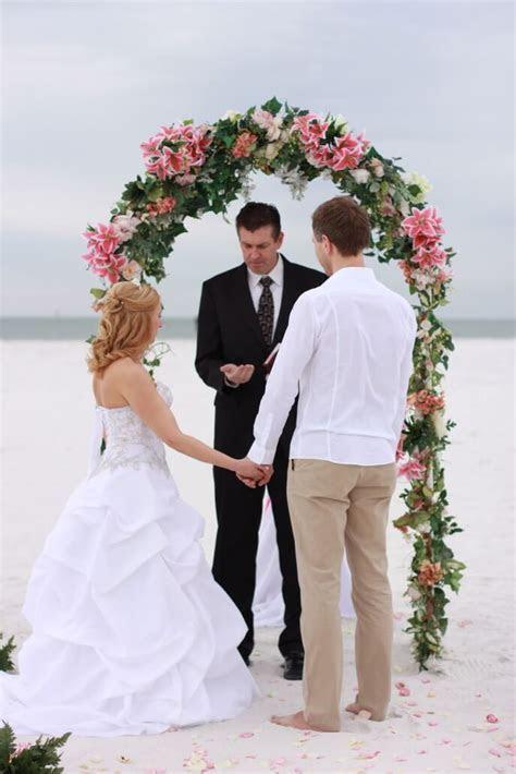 11. Arch of Love   Florida Beach Wedding   Siesta