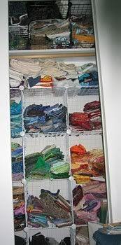 Part of Fabric Closet