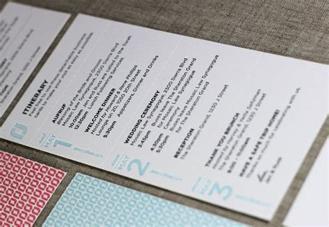 Press Engaged Letterpress & Design   Wedding Invitation Suite