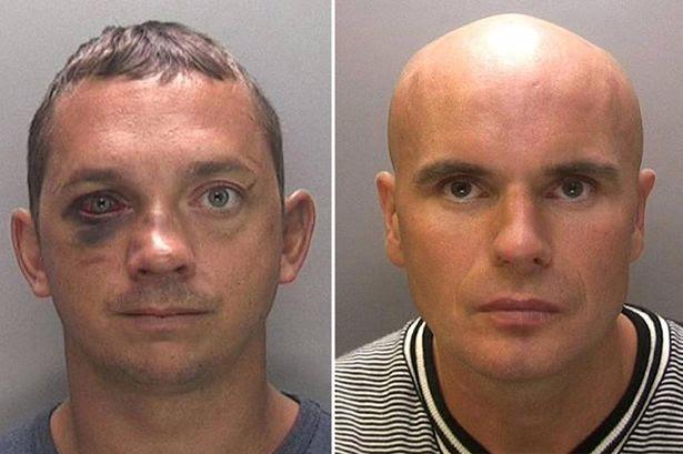 'Inept': Adrian Stanton (left) and Lee Wildman