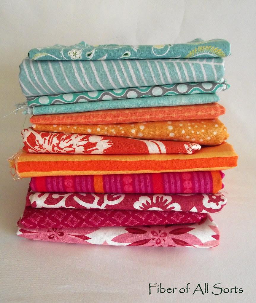 Sew.Happy.Quilt. QAL fabrics