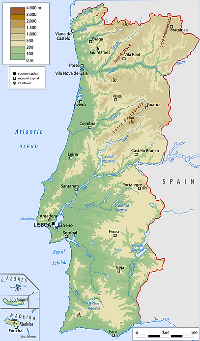 Portugal Geography