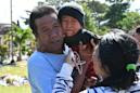 Indonesian parents reunited with son after week of tsunami anguish