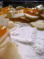 Hacer capas con los ingredientes