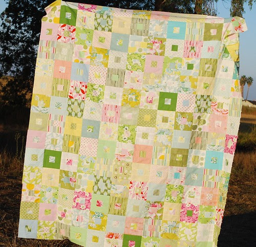 My Nicey Jane FQ quilt along top