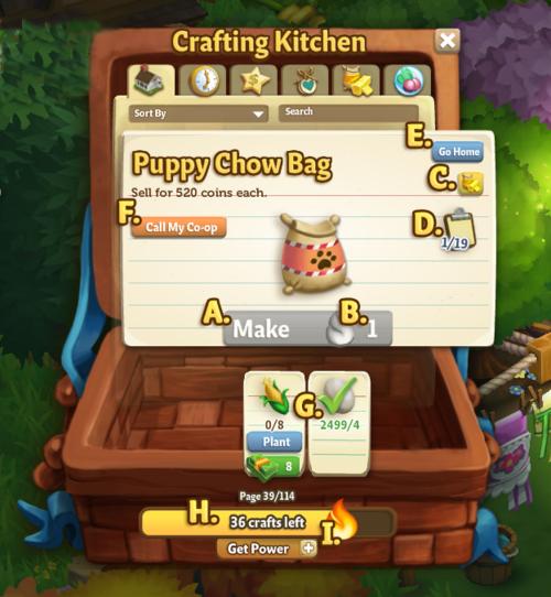 New Crafting - FarmVille 2
