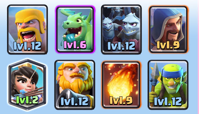 clash royale arena 7 deck arena 7 is also known