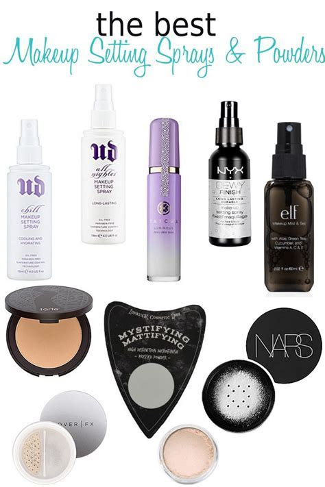10 Best Makeup Setting Sprays and Powders   Makeup setting