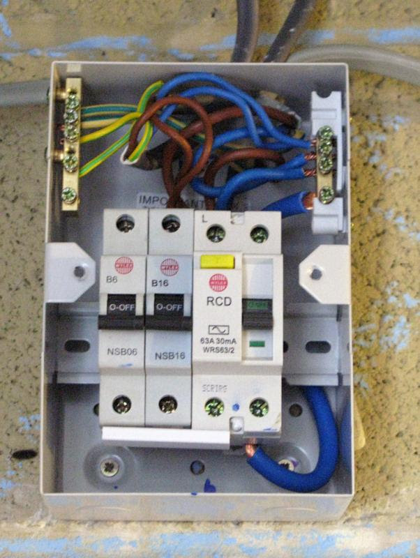 Comfortable Wiring Diagram For Consumer Unit Images Electrical