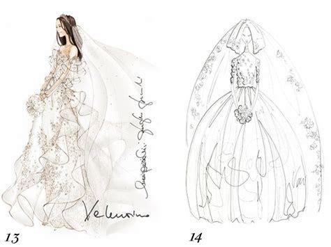 Valentino and Vera Wang sketch Kate Middleton's wedding