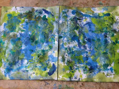 Art Journal #7 - Mixed Mediums 005