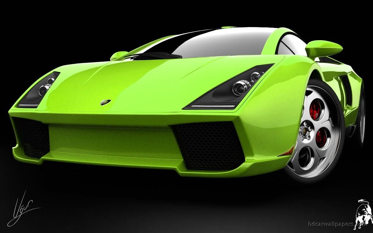 Lamborghini Green Concept Wallpaper HD Car Wallpapers