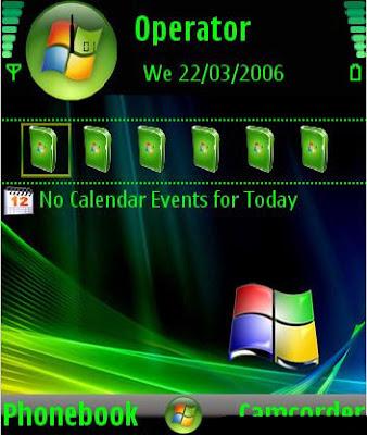 Tema Nokia 6131 Wallpaper