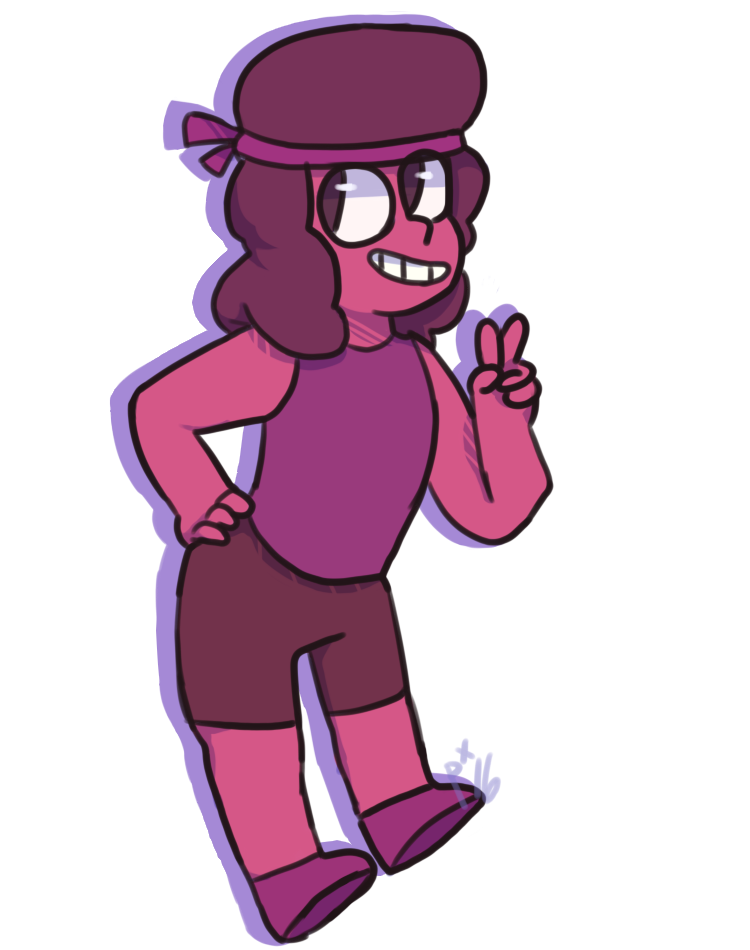 i made an ol regular ruby for my friends birthday hope he likes it