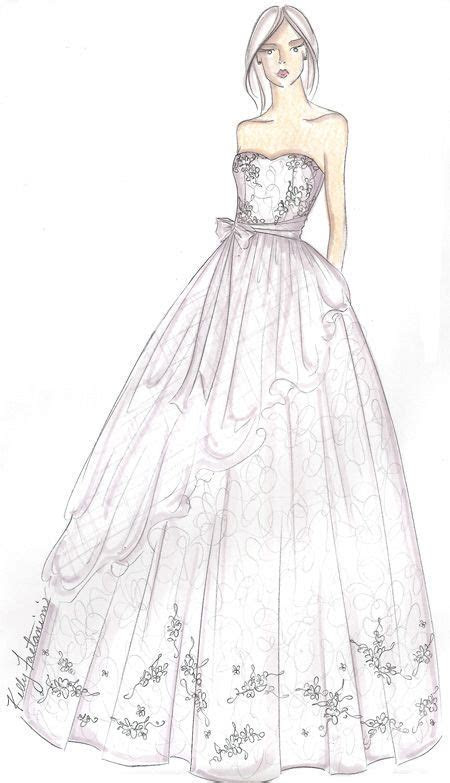 sketches of dresses for prom   Design Sketches   Fashion