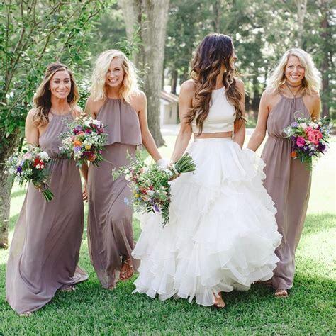 Show Me Your Mumu Dune Chiffon Bridesmaid Dresses