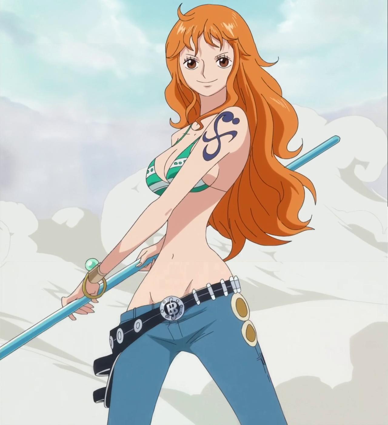 Nami One Piece Nach 2 Jahren Anime Top Wallpaper