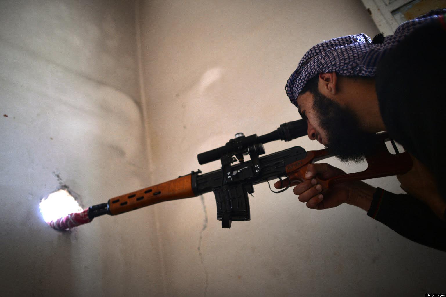 Résultats de recherche d'images pour «sniper alep»
