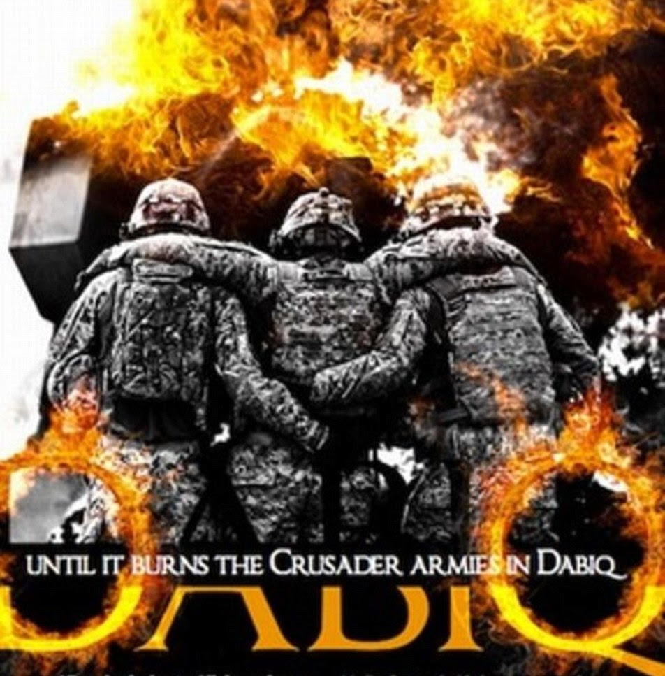 Dabiq magazine (pictured) is ISIS's English language magazine