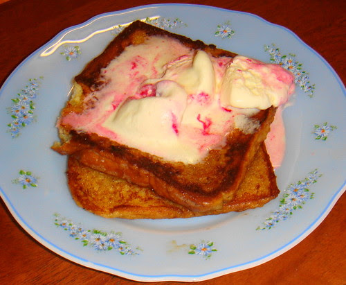 ice-cream french toast