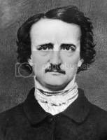 19th century poet Edgar Allan Poe, author of The Raven
