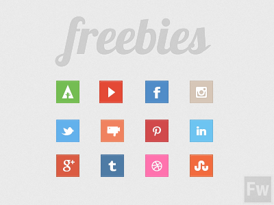 best freebie icons social media pack