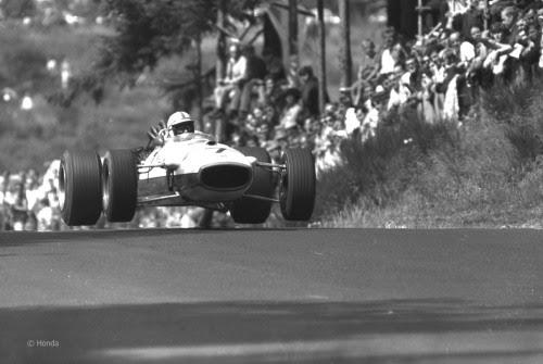 John Surtees, Honda, Nurburgring. (1967)