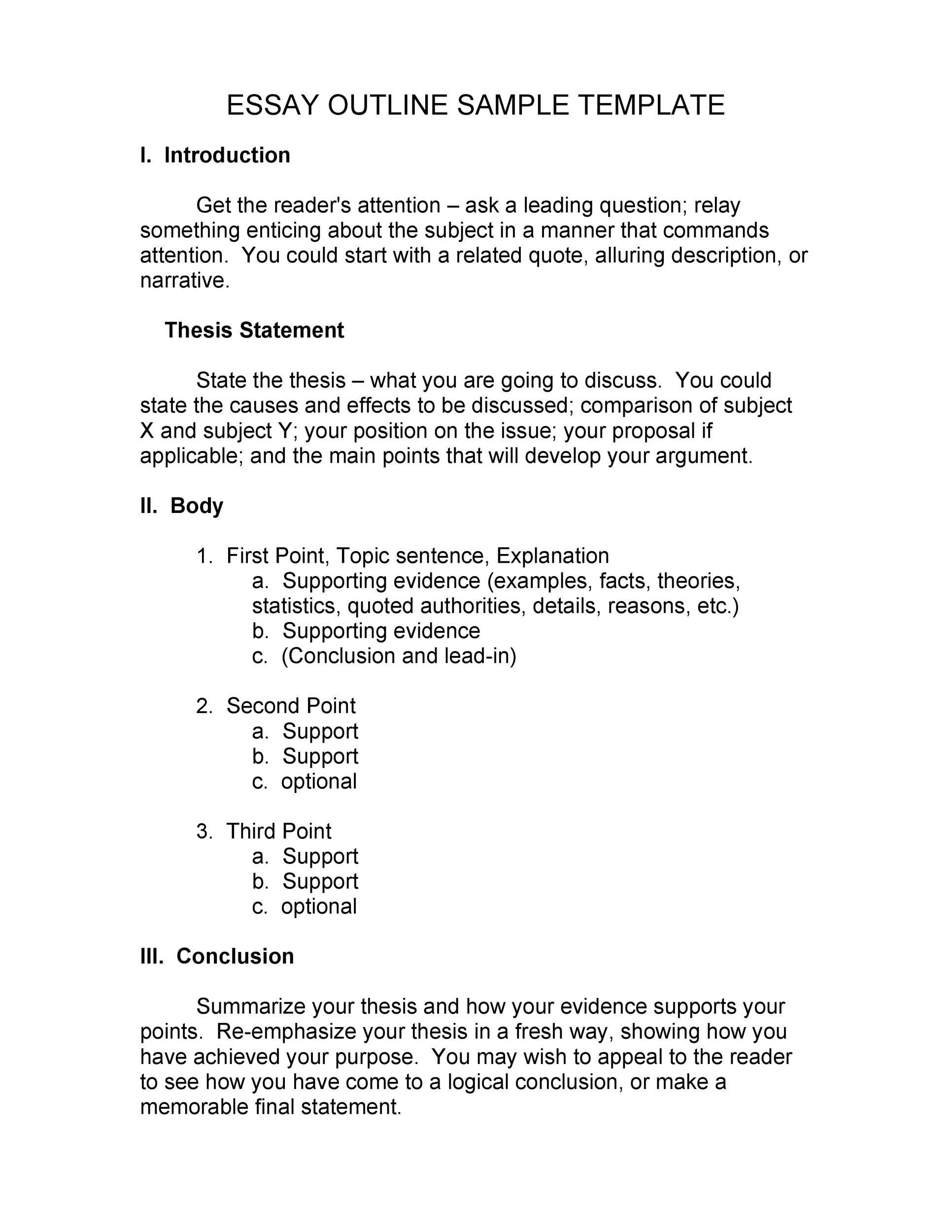 Thesis Introduction Outline - Thesis Title Ideas For College