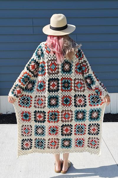 Crochet Kit - Lakeside Coatigan
