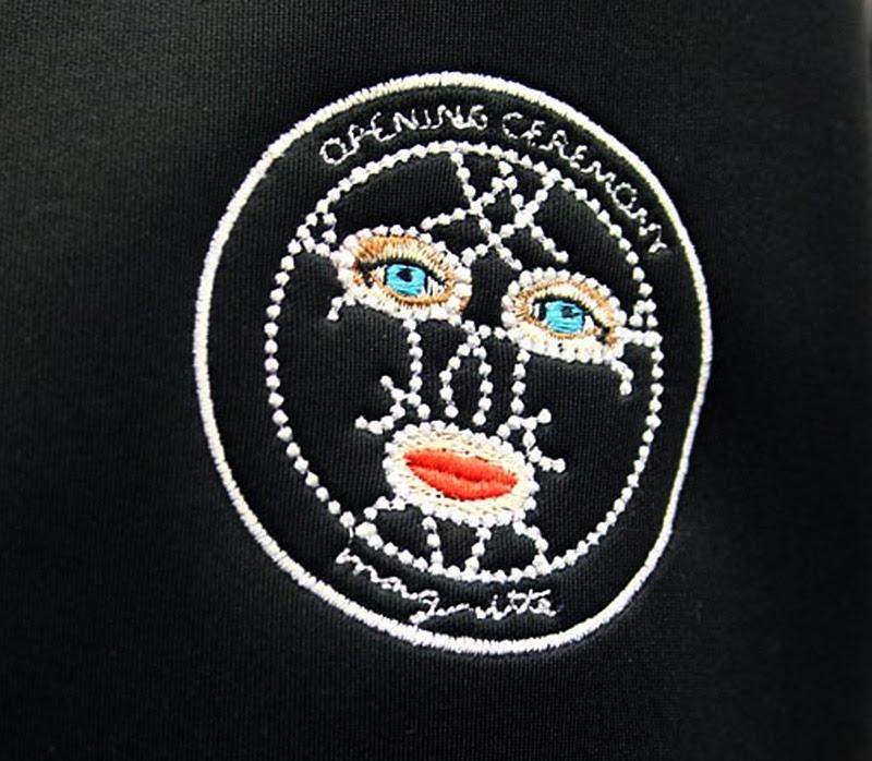embroidered OC Magritte Emblem IIHIH