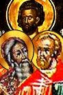 Calarampo, Profirio, Daucto y compañeras, Santos