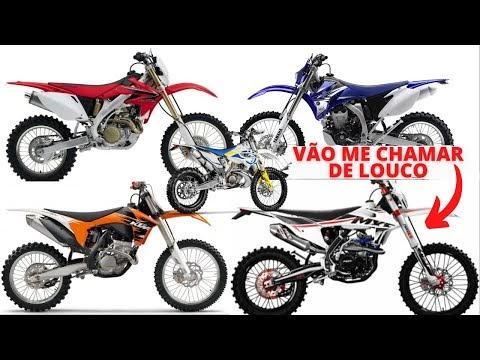 5 motos de trilha importadas boas e baratas para você começar