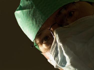 medic looking down