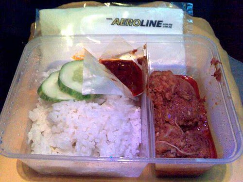 A Hot Meal on Aeroline