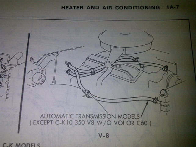 Chevrolet Engine Vacuum Routing Diagram